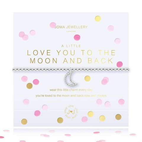 A Little I Love You To The Moon And Back Bracelet - insideout-home