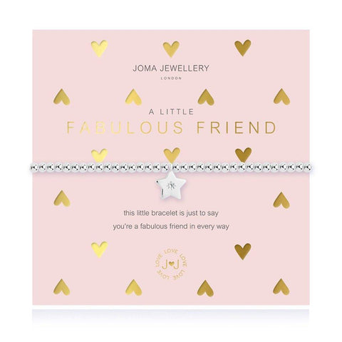 A Little Fabulous Friend Bracelet - insideout-home