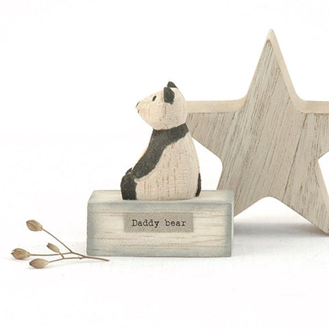 Daddy Bear Wooden Scene - insideout-home