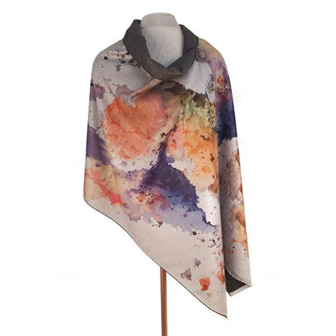 Luxury Watercolour Wrap Mustard - insideout-home