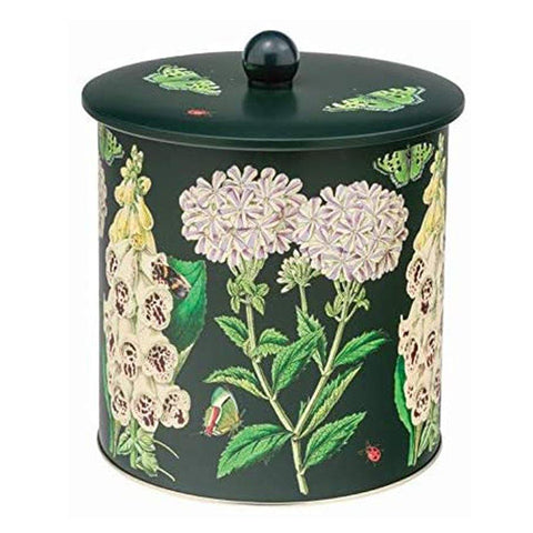 Midnight Botanical Biscuit Barrel