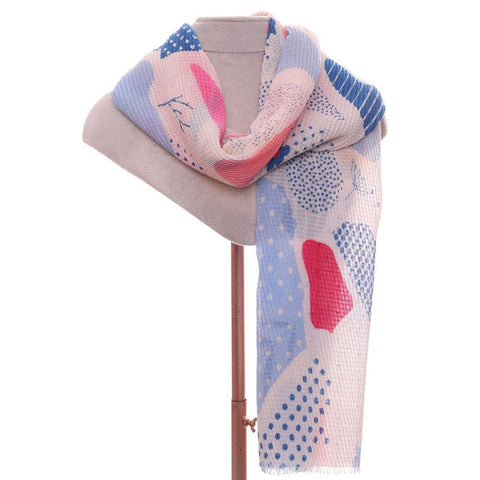 Flora Scarf Blues - insideout-home