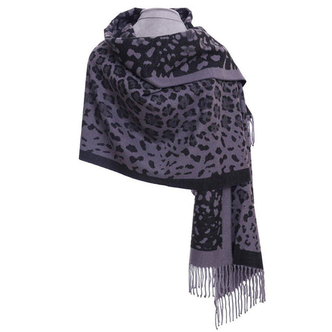 Luxury Wrap Black Leopard Print - insideout-home