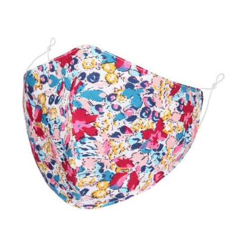 Face Mask Red Floral - insideout-home
