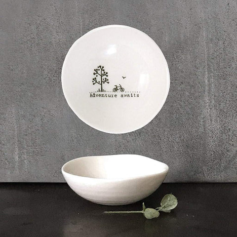 Adventure Awaits Small Wobbly Bowl - insideout-home