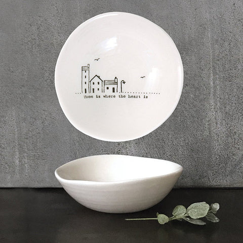 Home Is Where The Heart Is Small Wobbly Bowl - insideout-home