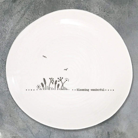 Blooming Wonderful Wobbly Plate - insideout-home