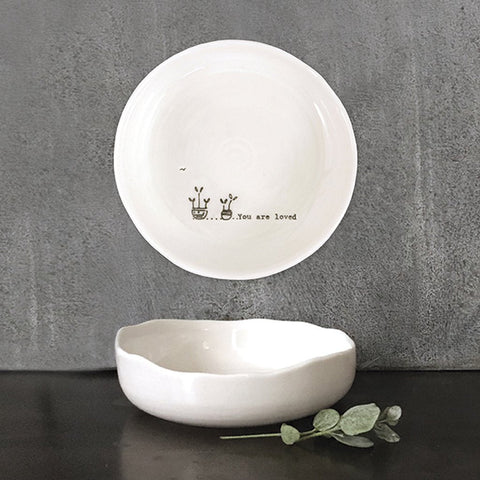 You Are Loved Trinket Dish - insideout-home