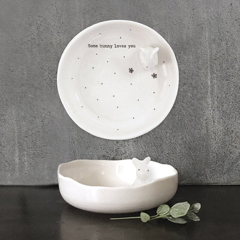 Some Bunny Loves You Trinket Dish - insideout-home