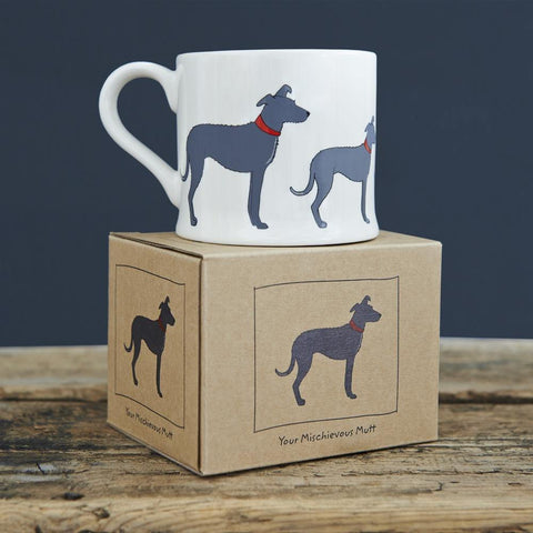 Lurcher Dog Mug - insideout-home