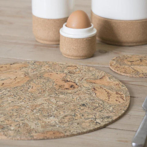Round Cork Placemats 5mm Set Of 4 - insideout-home