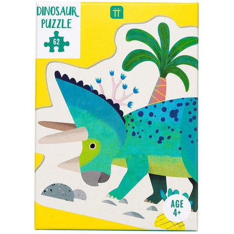 Triceratops 62 Piece Dinosaur Jigsaw Puzzle - insideout-home