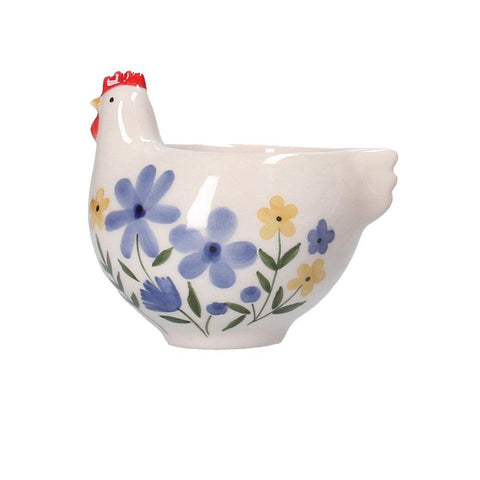 Country Folk Ceramic Hen Egg Cup insideout-home.myshopify.com