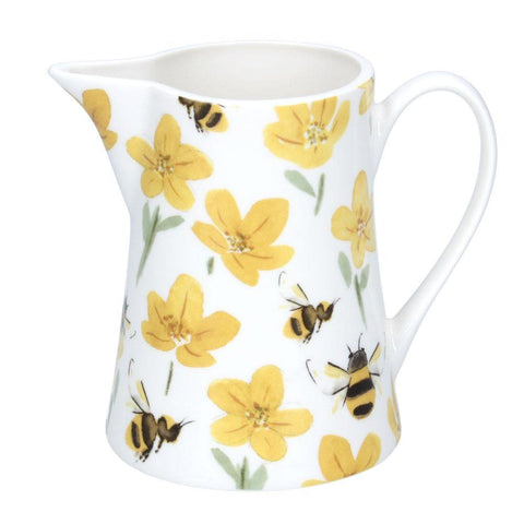 Buttercup Bee Jug Medium insideout-home.myshopify.com