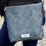 Autumn Leaf Oil Cloth Messenger Bag - insideout-home
