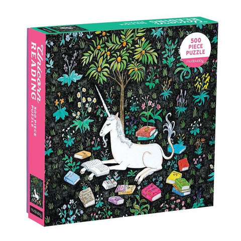 Unicorn Reading 500 Piece Jigsaw Puzzle - insideout-home