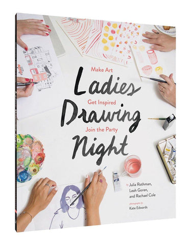 Ladies Drawing Night Book - insideout-home