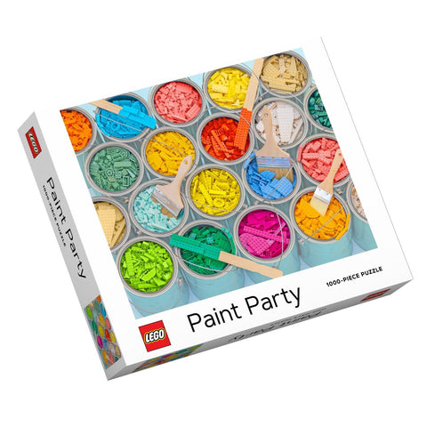 LEGO Paint Party 1000 Piece Jigsaw Puzzle - insideout-home