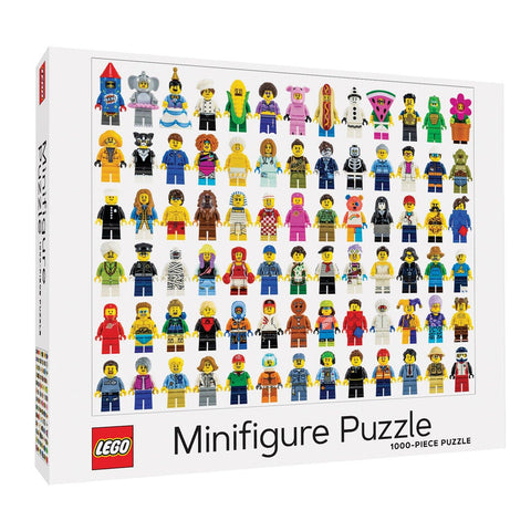 LEGO Minifigure 1000 Piece Jigsaw Puzzle - insideout-home