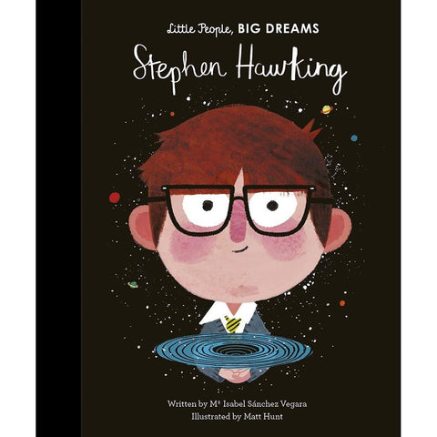 Little People Big Dreams Stephen Hawking - insideout-home