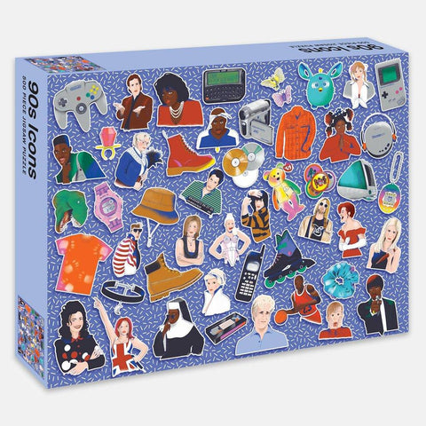 90's Icons Jigsaw Puzzle 500 Pieces - insideout-home