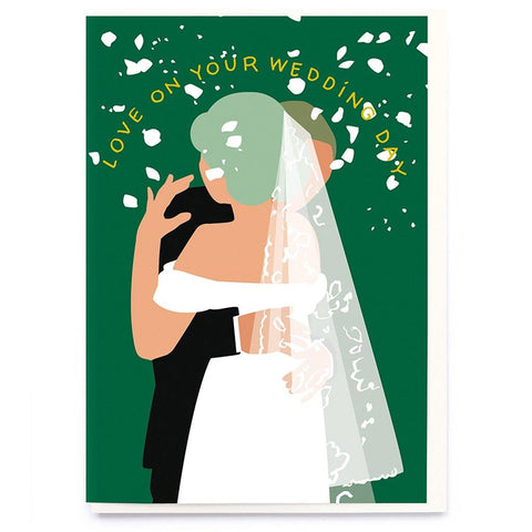 Love On Your Wedding Day Card - insideout-home