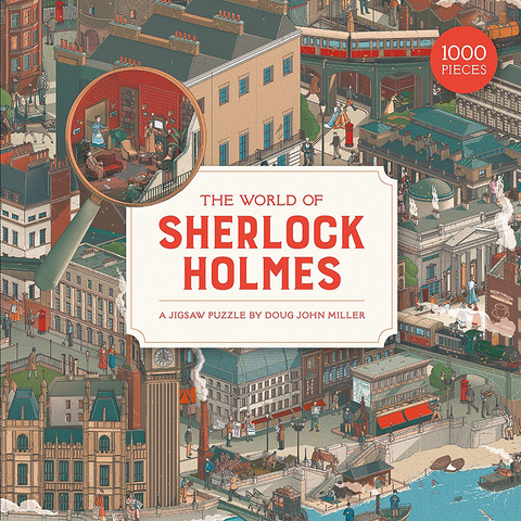 The World Of Sherlock Holmes 1000 Piece Jigsaw Puzzle - Insideout