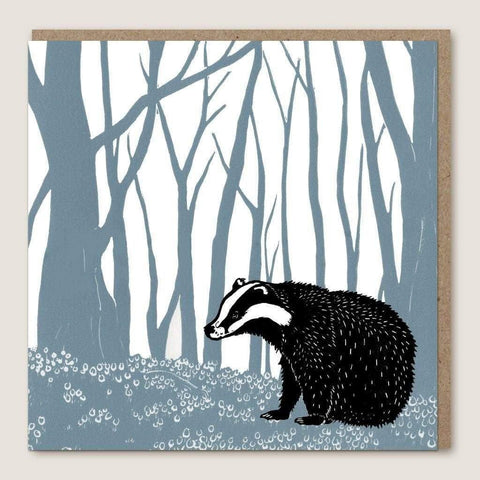 ACU01 Badger Wood Card