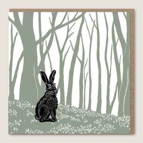 ACU03 Hare Wood Card