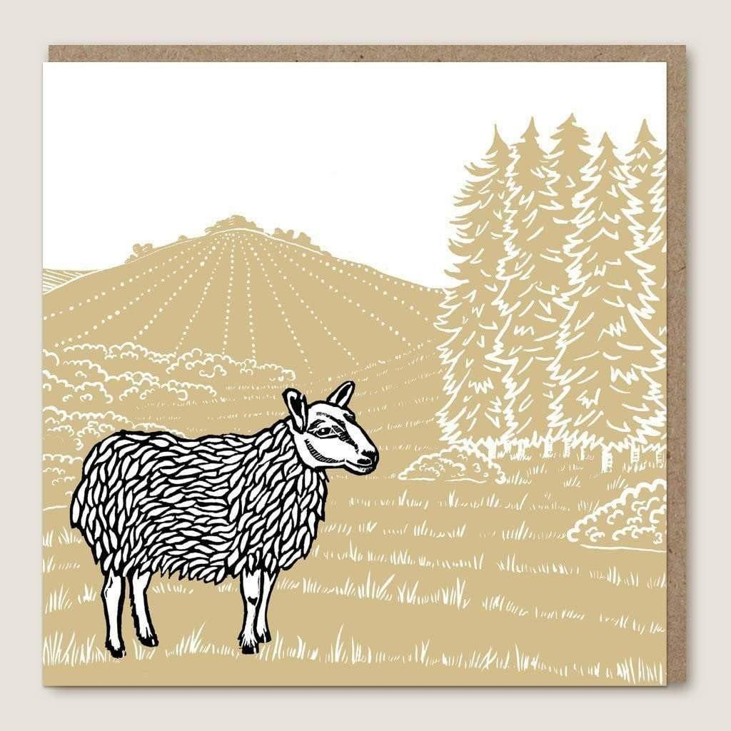 ACU06 Sheep Moor Card by  Insideout