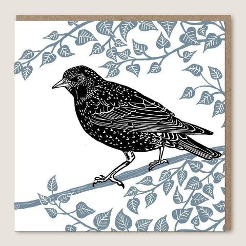 ACU24 Starling Leaves Card - insideout-home