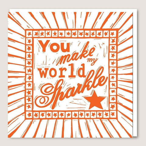 ACUW05 You Make My World Sparkle Card - insideout-home