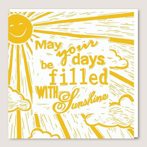 ACUW06 May Your Days Be Filled With Sunshine Card - insideout-home