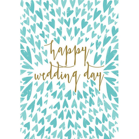 Happy Wedding Day Card - insideout-home