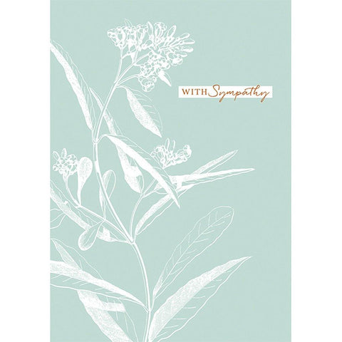 With Sympathy Card - insideout-home