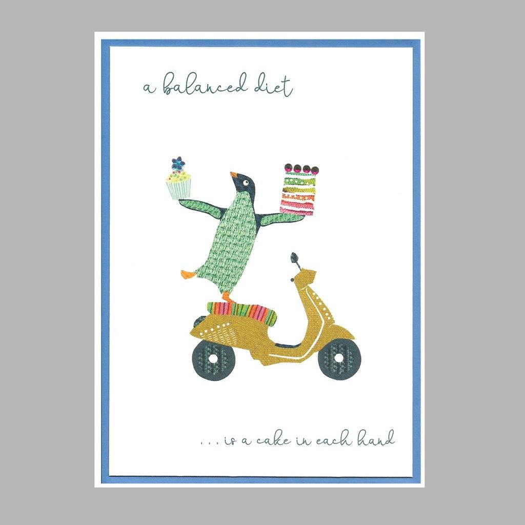 A Balanced Diet Card, Gift Giving by Insideout