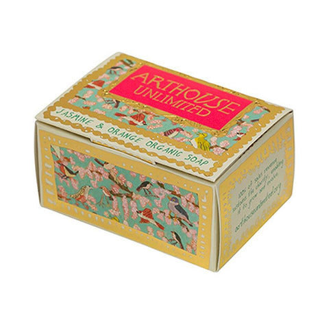 Organic Soap Blooming Marvellous Jasmine & Orange - insideout-home