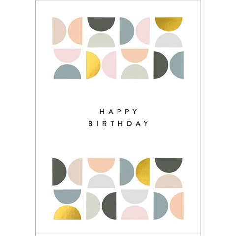 Happy Birthday Tiled Card - insideout-home
