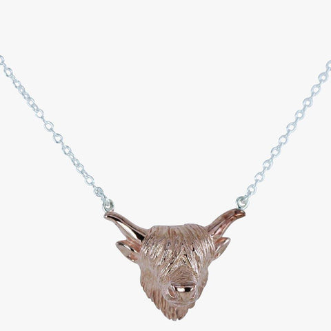 Highland Cow Necklace - insideout-home