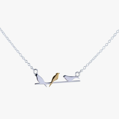 Bird On A Wire Necklace - insideout-home