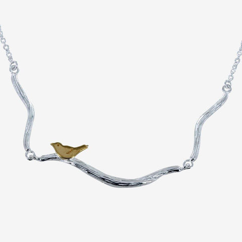 Bird On A Branch Necklace - insideout-home