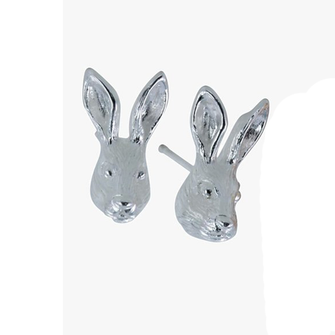Hare Sterling Silver Studs - insideout-home