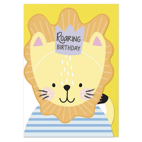 Roaring Birthday Card