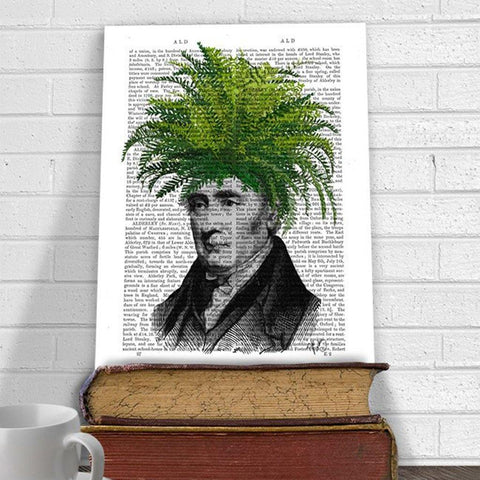 Fern Head Mounted Print - insideout-home