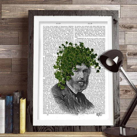 Ivy Head Print - insideout-home
