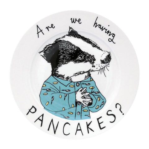Are We Having Pancakes Side Plate - insideout-home