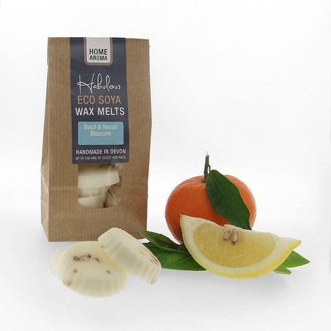 Basil & Neroli Blossom Eco Soya Wax Melts Pack - insideout-home