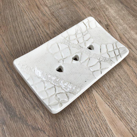 Rectangular Soap Dish - Block Floral - insideout-home