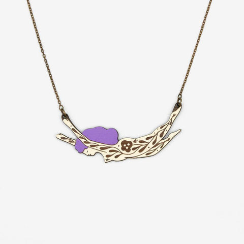 Cosmic Woman Violet Necklace - insideout-home