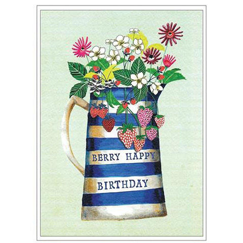 Berry Happy Birthday Card - insideout-home